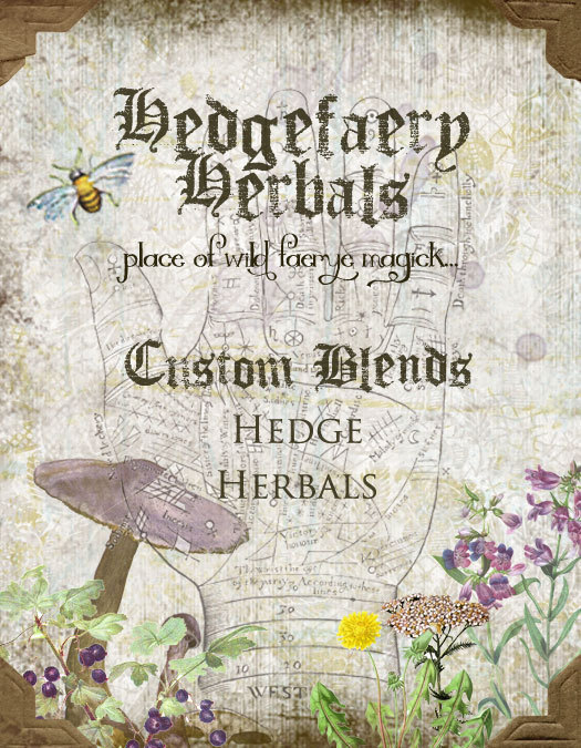 Anniversary Giveaway from Hedgefaery Herbals